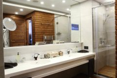 Apart otel Lucky Bansko | Apart otel Kral Dairesi Banyo ve küvet
