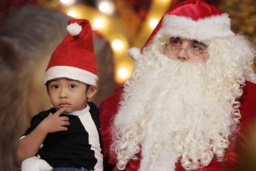 Дядо Коледа на детско парти | Lucky Bansko