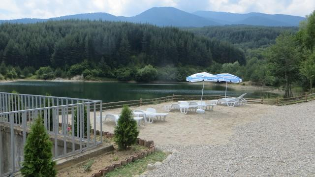 Bansko yakınındaki Krinets barajı