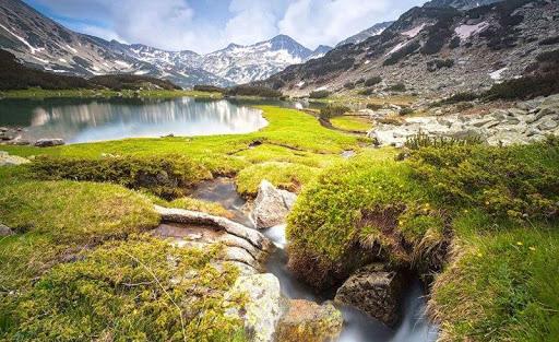 Pirin Dağları'ndaki nehirler ve parklar