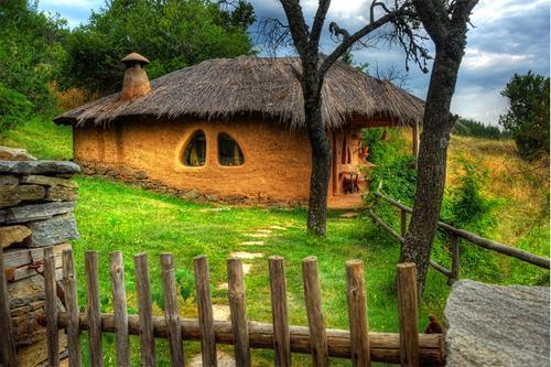 Leshten köyünde güzel bir ev
