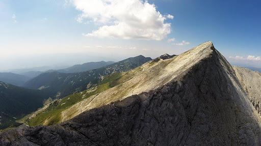 Pirin Dağları'ndaki Zirve Vihren