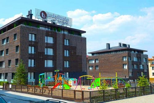 Детска площадка | Апартхотел Лъки Банско СПА & Релакс