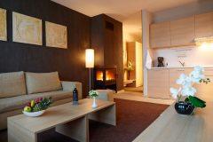 Apart otel Lucky Bansko | Deluxe oturma odası fotoğrafı