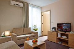 Apart otel Lucky Bansko | Lux stüdyoda oturma odası