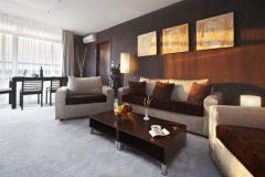 Apart otel Lucky Bansko | Executive dairesi oturma odası fotoğrafı