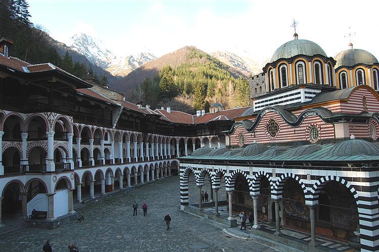 Rila Manastırı içeride | Lucky Bansko SPA & Relax