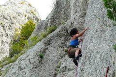 Bansko'da kaya tırmanışı